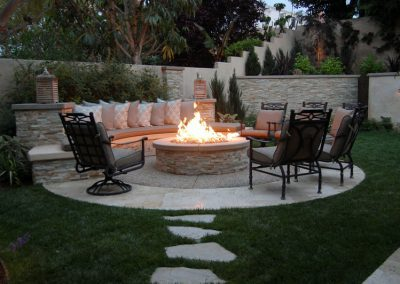 Conversation Firepit - Outdoor Living