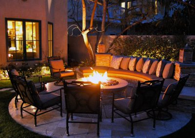 Conversation Firepit - Outdoor Evenings